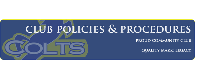 Club Policies & Procedures