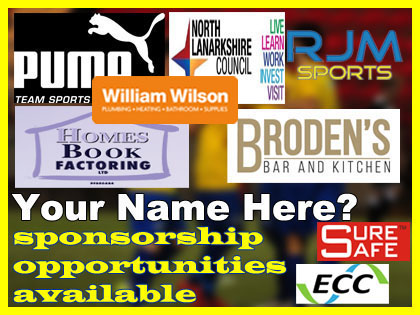 Cumbernauld Colts Sponsorship Packages